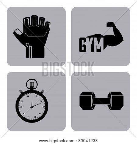 gym design icons