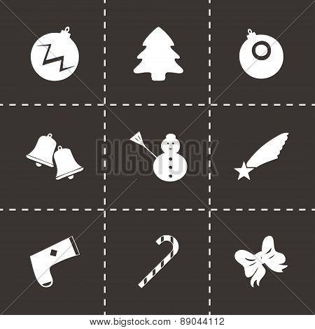 Vector cristmas icons set