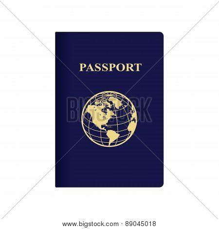 International blue passport