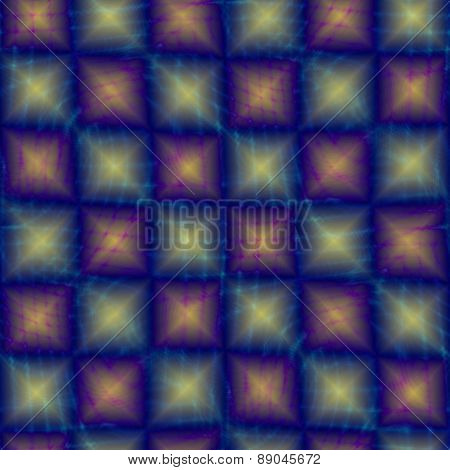 Abstract shining checkered background
