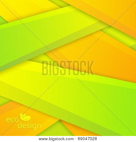 Colorful Eco Background. Can be used for backgrounds and page fill web design