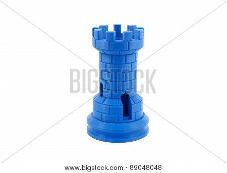 3D Printed Model Of A Castle