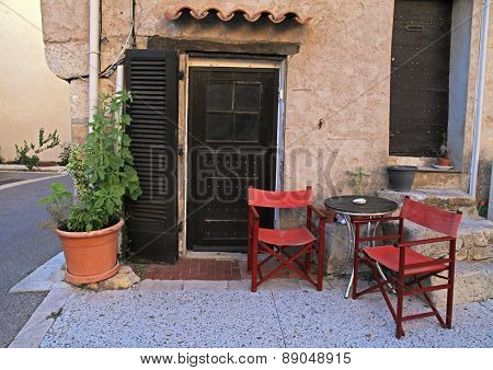 Old Rural House In Village, Provence, France