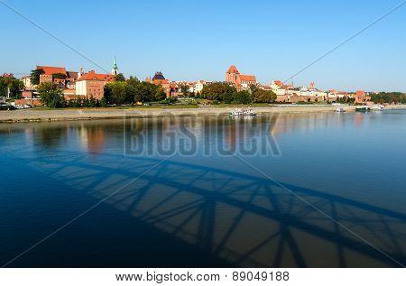 Old Town in Torun, Poland.