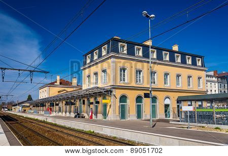 Station Of Bourg-en-bresse - France, Rhone-alpes