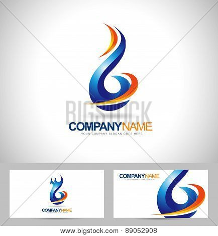 Blue Flame Logo