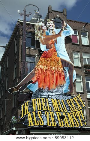 Poster Of King And Queen Of Holland