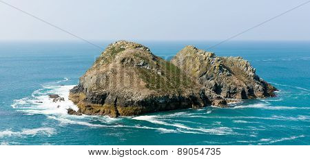 Holywell Bay rocks Cornwall England UK near Newquay and Crantock
