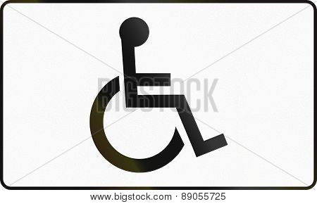 Handicapped Persons In Poland