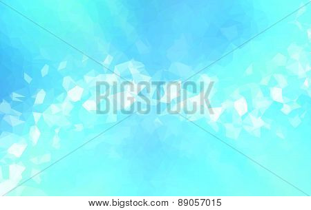 Background modern texture triangle geometry abstract blue line