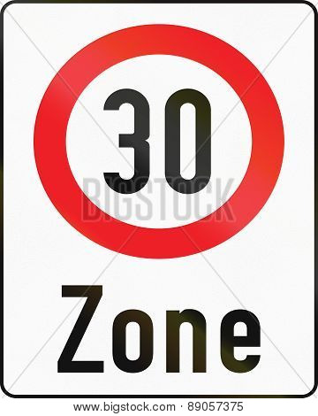 30-zone In Austria