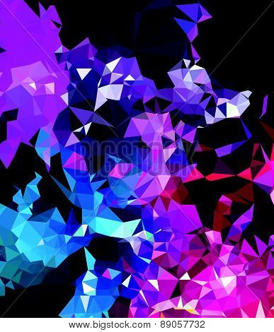 Background modern texture triangle geometry abstract art creation
