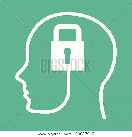 think design over green background vector illustration
