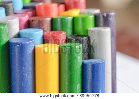 Old Crayons For Painting