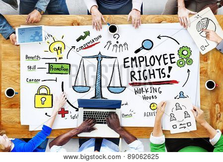 Employee Rights Employment Equality Job People Meeting Concept