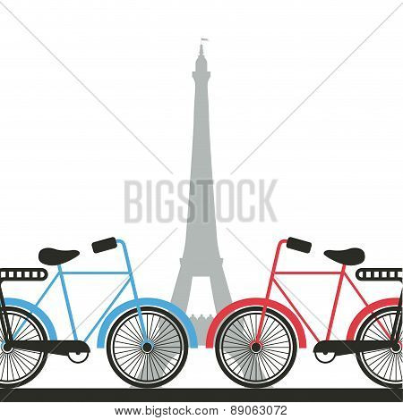 cycling  design over   background vector illustration