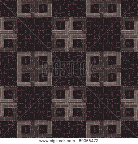 Samless pattern with geometric designs