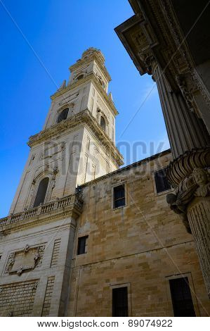 Duomo Plaza In Lecce