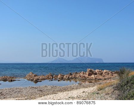 Sardinia Seascape In Summer
