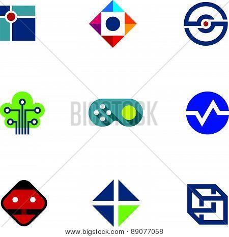 IT developer game company community professional fun ideas logo icon