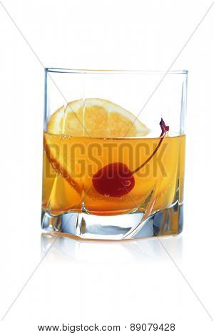 Studio shot of drink on white background