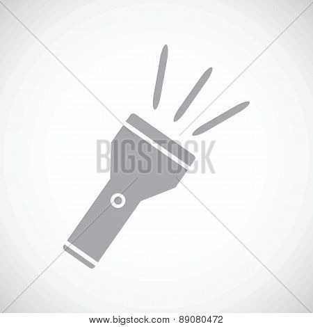 Flashlight black icon
