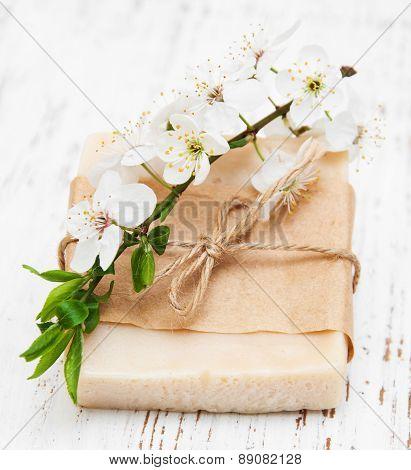 Cherry Blossom And Handmade Soap
