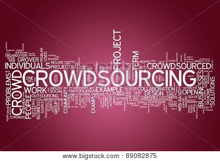 Word Cloud Crowdsourcing