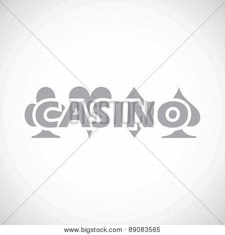 Casino black icon