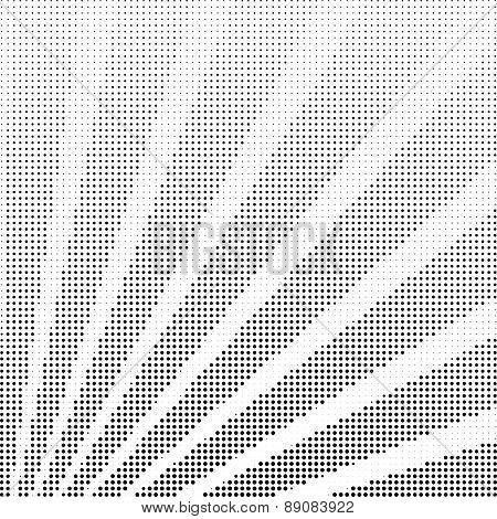Vector halftone rays