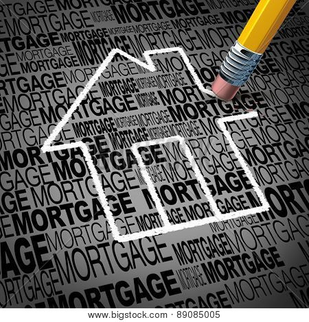 Home Mortgage Concept