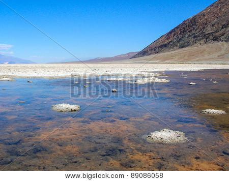 Badwater Basin In Death Valley Np