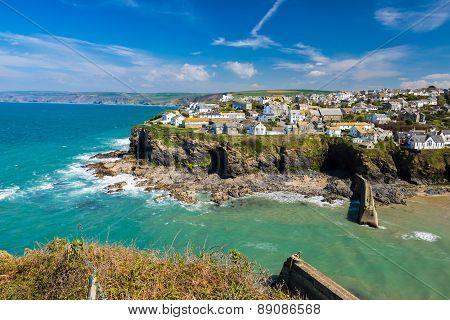 Port Isaac Cornwall England