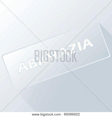 Abkhazia unique button