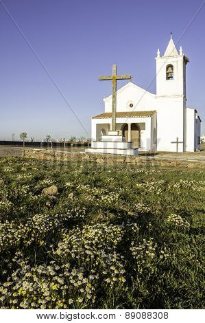 Church In Luz New Village, Built In 2002 On A Site Selected By The Community.