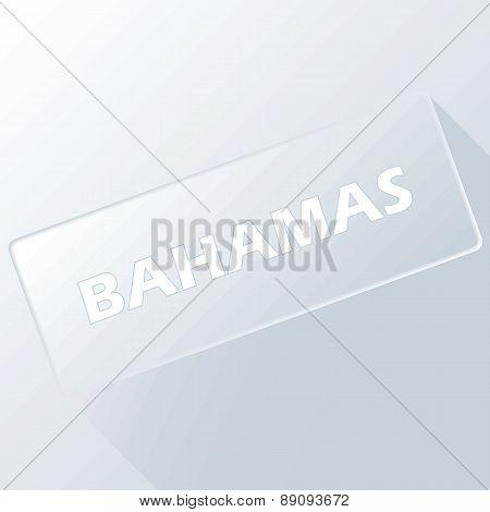 Bahamas unique button