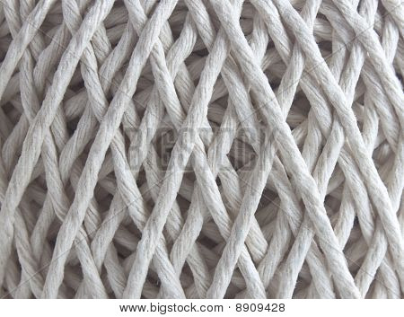 Ball Of String In Close Up