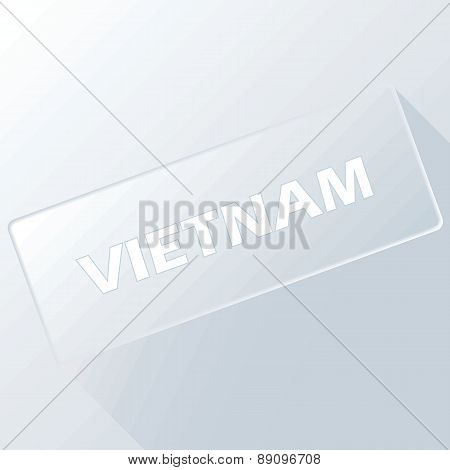 Vietnam unique button