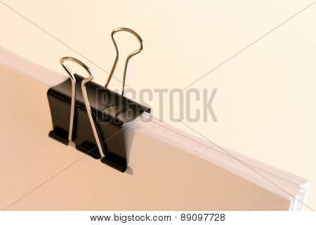 Paper clip - close up