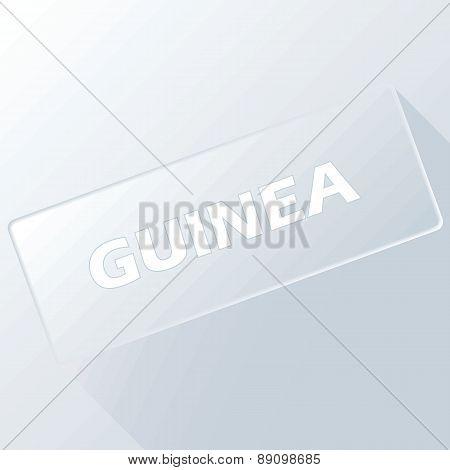Guinea unique button