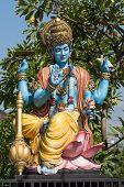 stock photo of hindu  - Shiva statue hindu idol in Ubud Bali Indonesia - JPG