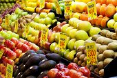 foto of tangelo  - Fruits in a market in Adelaide, South Australia