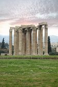 foto of olympian  - Temple of Olympian Zeus in Athens Greece - JPG