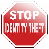 picture of stealing  - identity theft stealing ID online stop internet or cyber crime - JPG