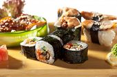 picture of sushi  - Japanese Cuisine  - JPG