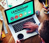 stock photo of responsible  - Adviser Leadership Management Director Responsibility Concept - JPG