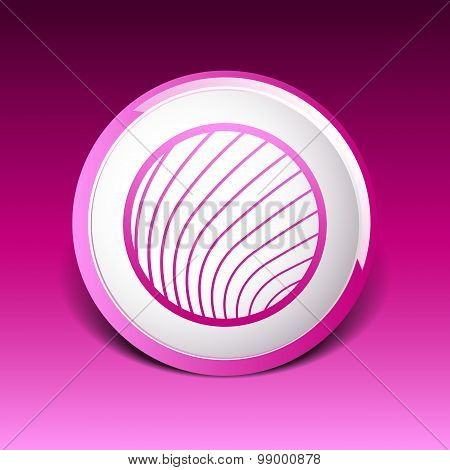 vector button glass orb disco icon round