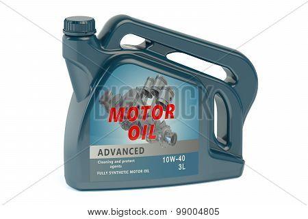 Canister Motor Oil