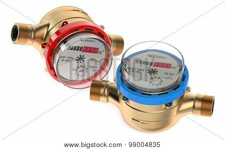 Cold And Hot Water Meters