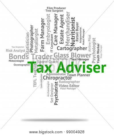 Tax Adviser Means Levies Duties And Counsellor